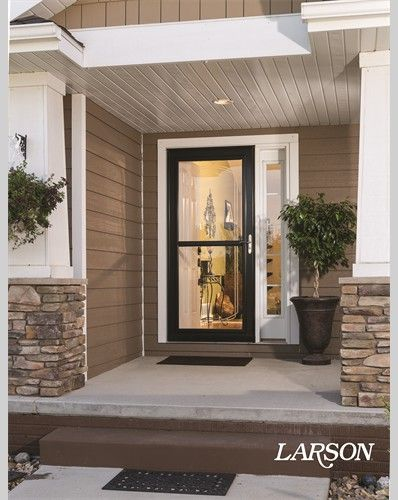 At LARSON, Our Passion Is Delivering Products That Are Built To Protect  What Matters Most. Our Storm Doors, Security Doors And Windows Offer  Everything From ...